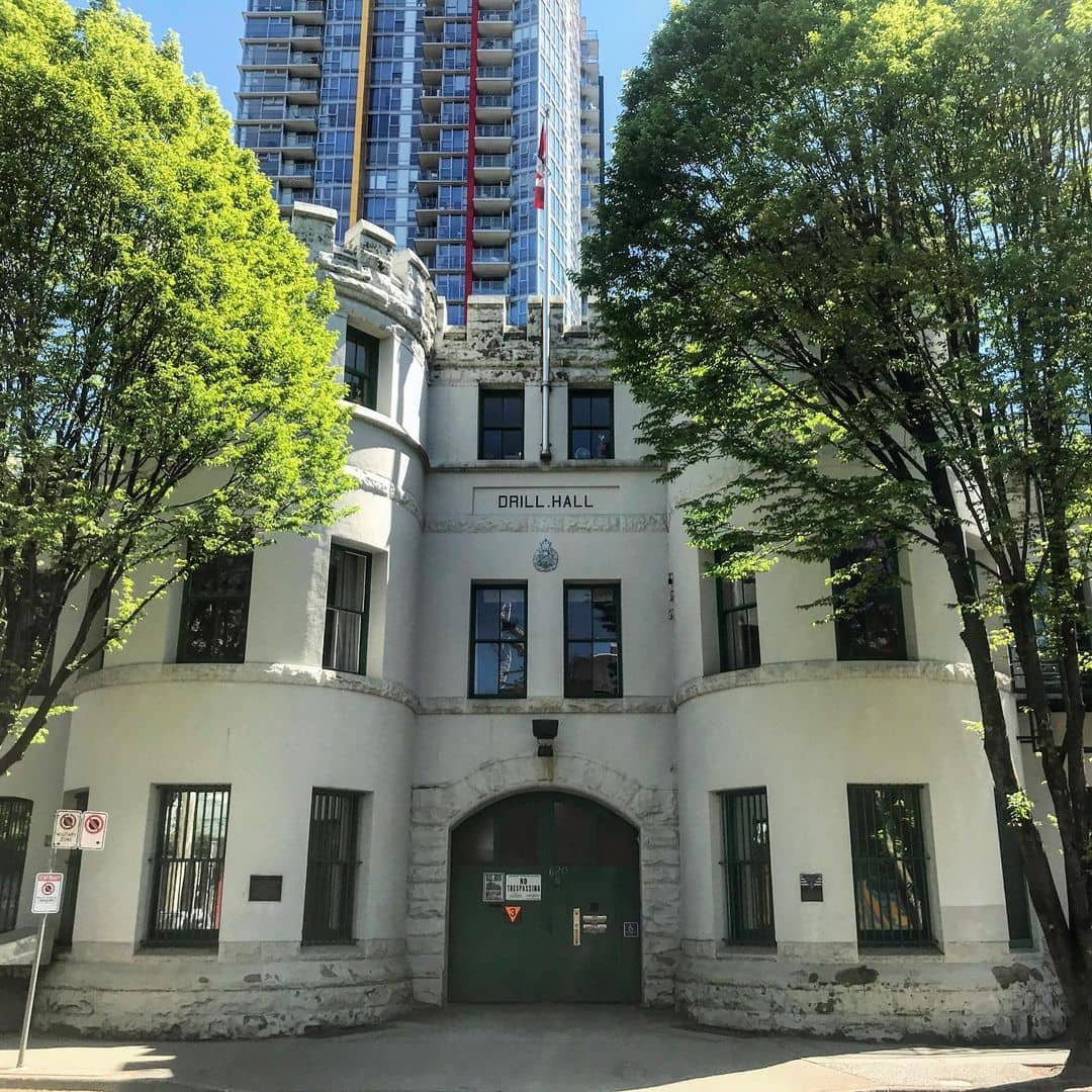 oldest vancouver buidlings beatty street drill hall