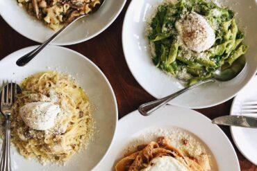 best italian restaurants in vancouver - ask luigi 4 popular pasta dishes