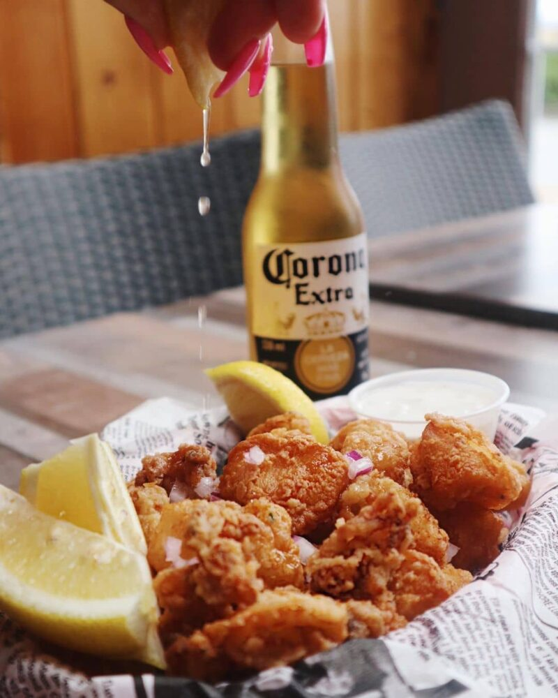 best restaurants in White Rock - moby dick fish and chips with beer