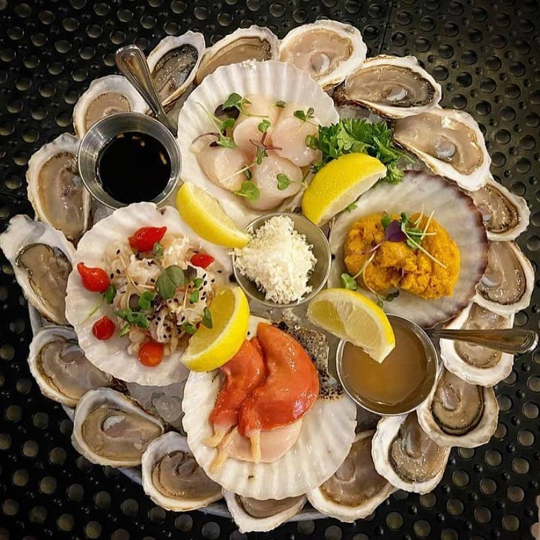 best seafood in vancouver fanny bay oysters