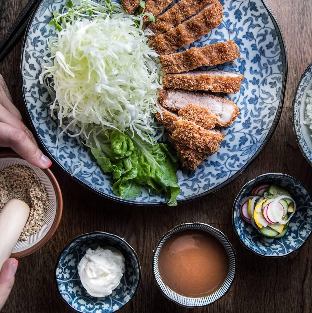 dosanko tonkatsu rice 1