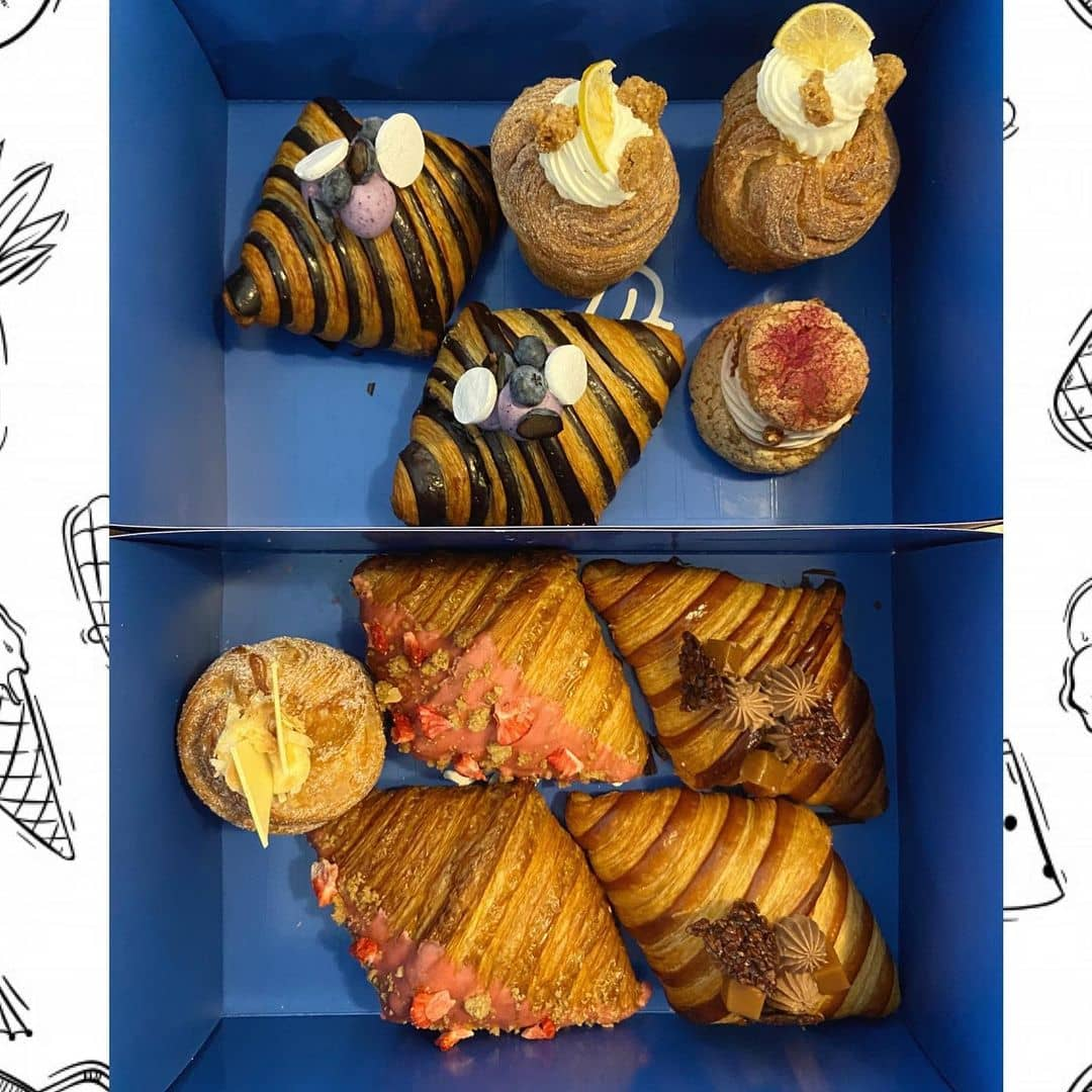 lonsdale quay travel guide - nemesis coffee box of croissants
