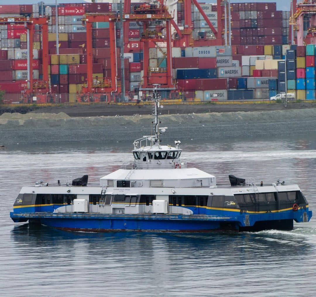 lonsdale quay travel guide - seabus moving