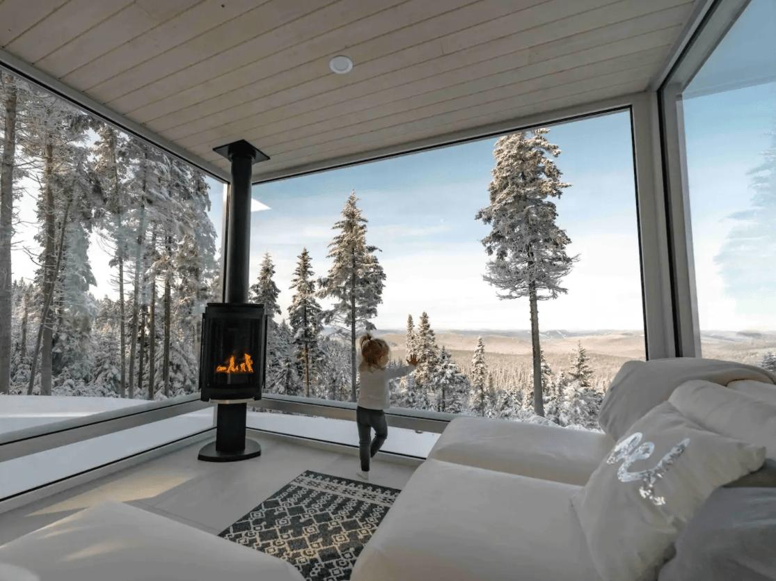 unique airbnb quebec Le MICA