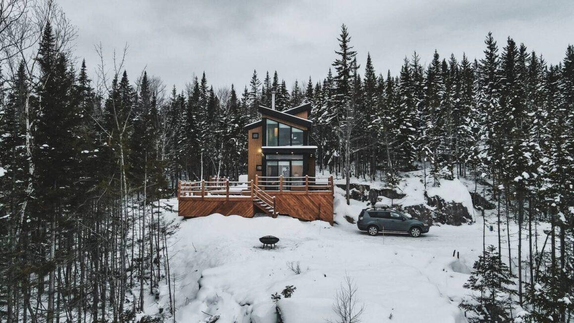 unique airbnb quebec Le Panörama Une expérience a vivre en nature