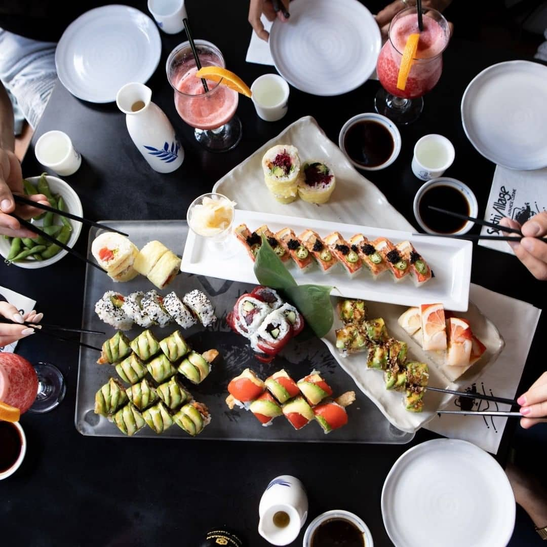 vancouver to whistler Sushi Village