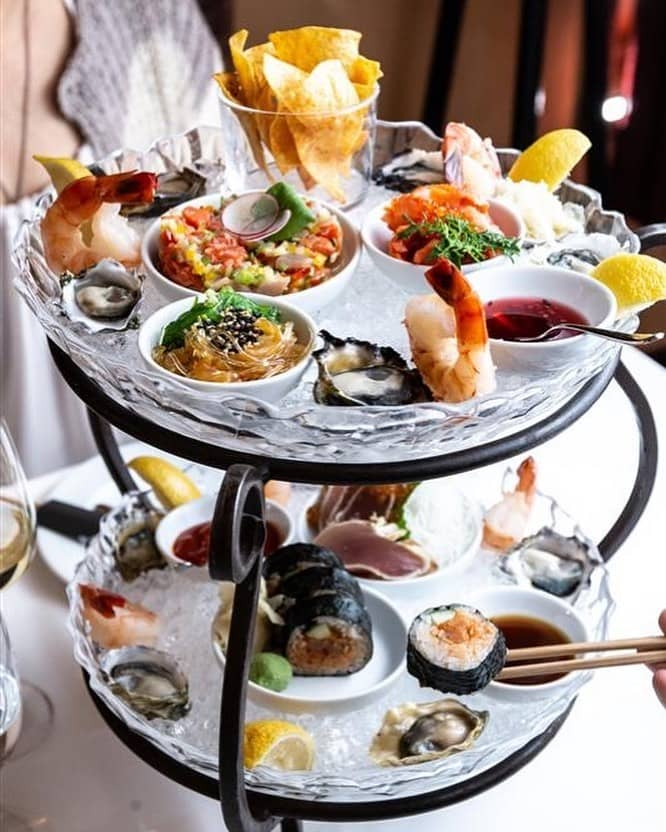 best restaurants and food in whistler seafood tower araxi restaurant