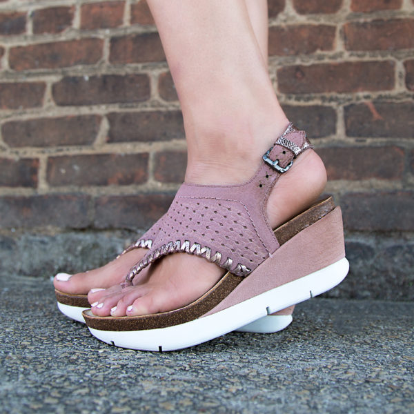 OTBT Meditate Wedge Sandal Pecan