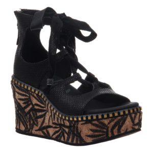 OTBT Kentucky Black Sandal