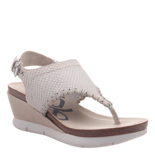 OTBT Meditate Sandal White Close Up
