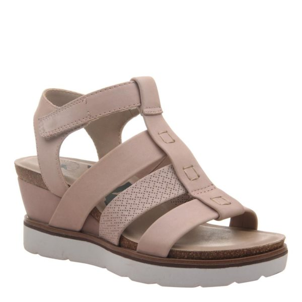 OTBT New Moon Warm Pink Wedge Sandal