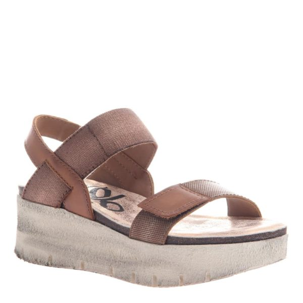 OTBT Nova Copper Wedge Sandal