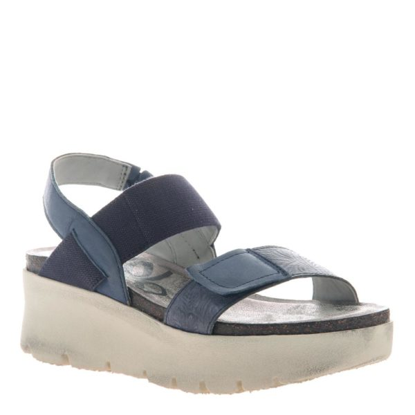 OTBT Nova Navy Wedge Sandal
