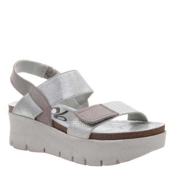 OTBT Nova New Silver Standard Wedge Sandal