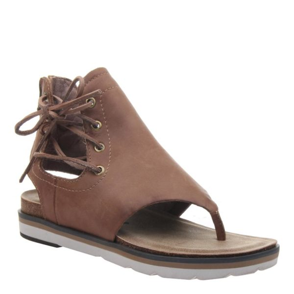 OTBT locate sandal brown