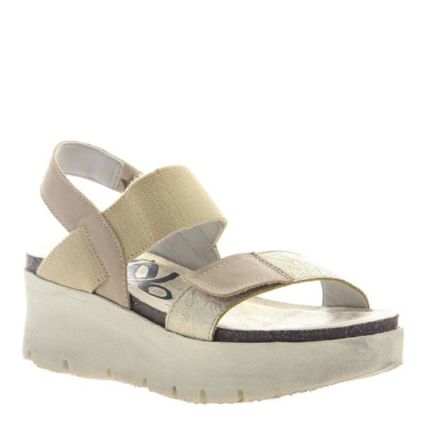OTBT-Nova-Gold Yellow Sandal