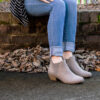 Madeline Parfait Ankle Bootie Stone