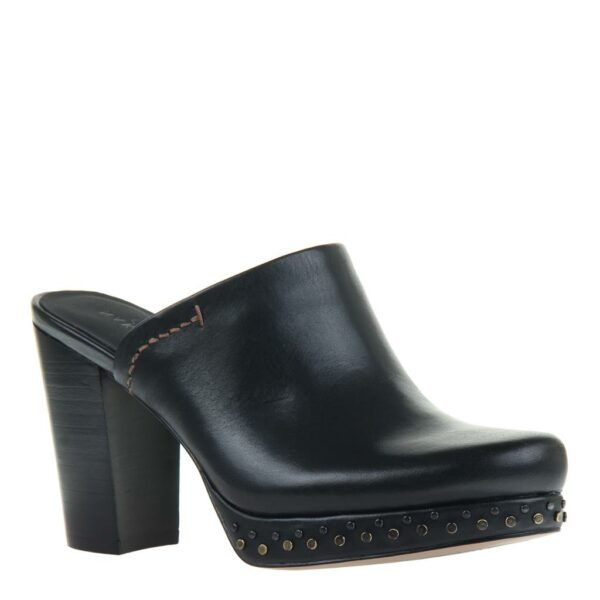 Naked Feet-Arion-Mule-Black