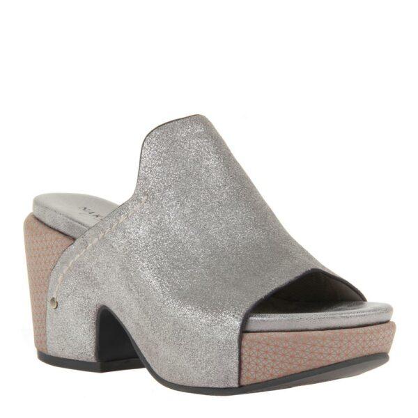 Corinth Naked Feet Grey Silver