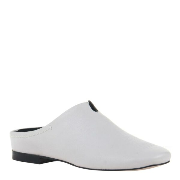 Fondo Naked Feet Slip-On Mule Dove Grey