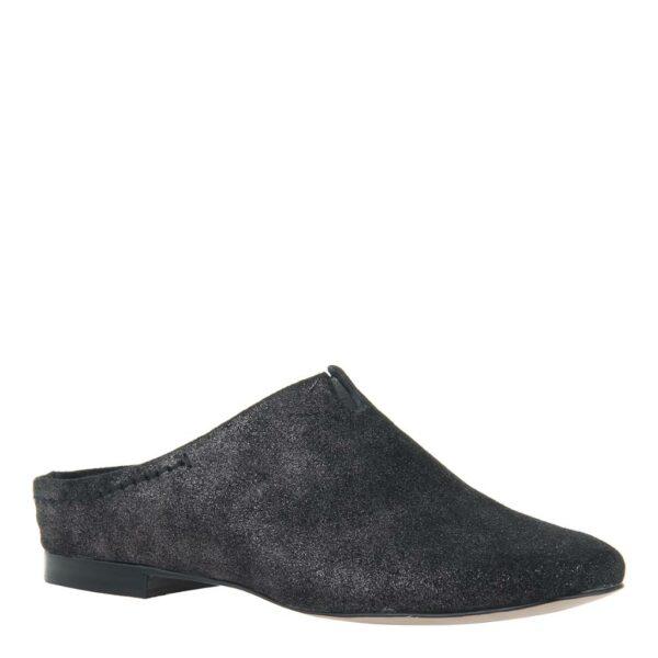 Fondo Naked Feet Slip-On Mule Pewter