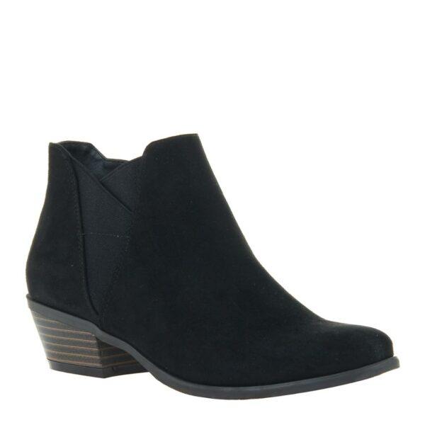 Madeline Parfait Ankle Bootie Black