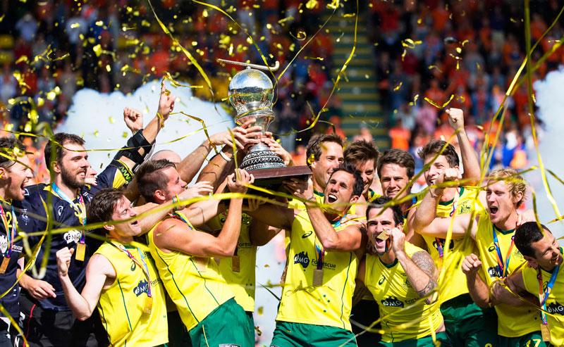 DEN HAAG - tijdens de finale van het WK Hockey tussen Nederland en Australie. COPYRIGHT GEMEENTE DEN HAAG VALERIE KUYPERS