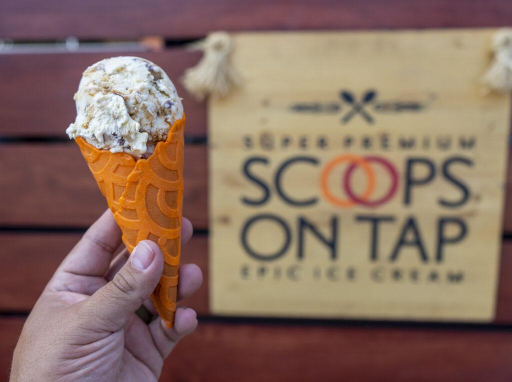 ice cream, beer infused ice cream,