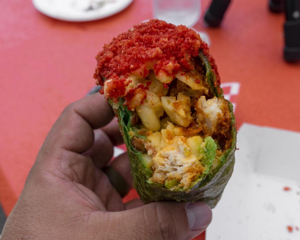 burrito, chimichanga, la county fair, fair food