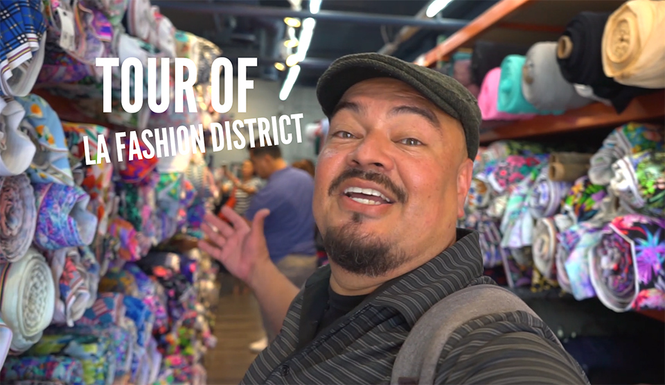 LA Fashion District, DTLA , Fashion, Tour, Travel