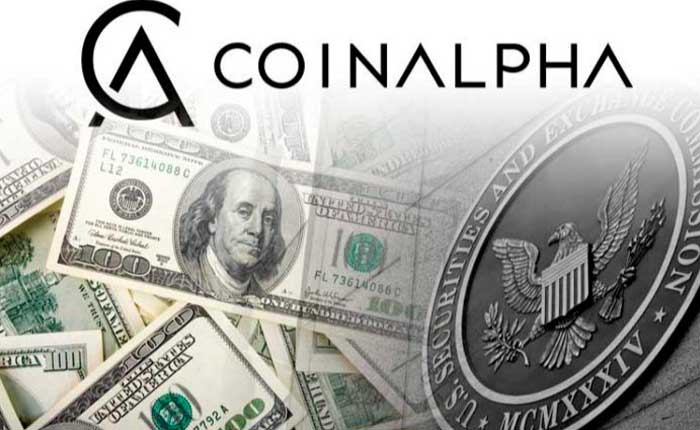 CoinAlpha Fined 50K For Securities Act Violations