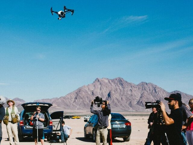 Drones In TV, Film & Media