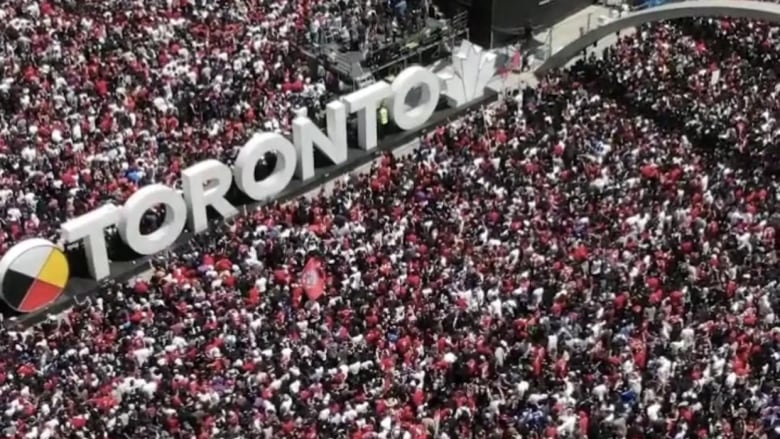 'Brazen' drone footage of Raptors parade 'a slap in the face' to professional operators