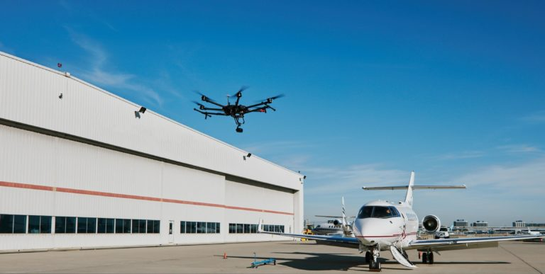 Can drone technology make aviation safer?