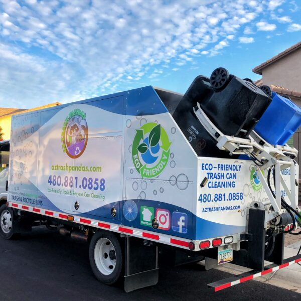 AZ Trash Pandas Garbage Can Cleaning services