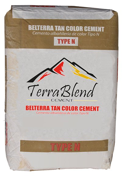 Belterra Tan Type N Masonry Cement