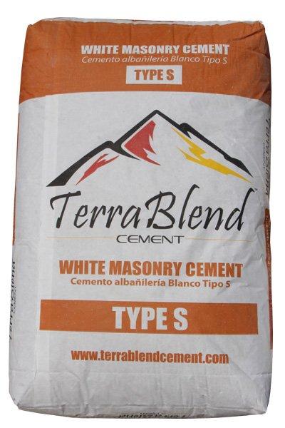 White Masonry Cement Type S