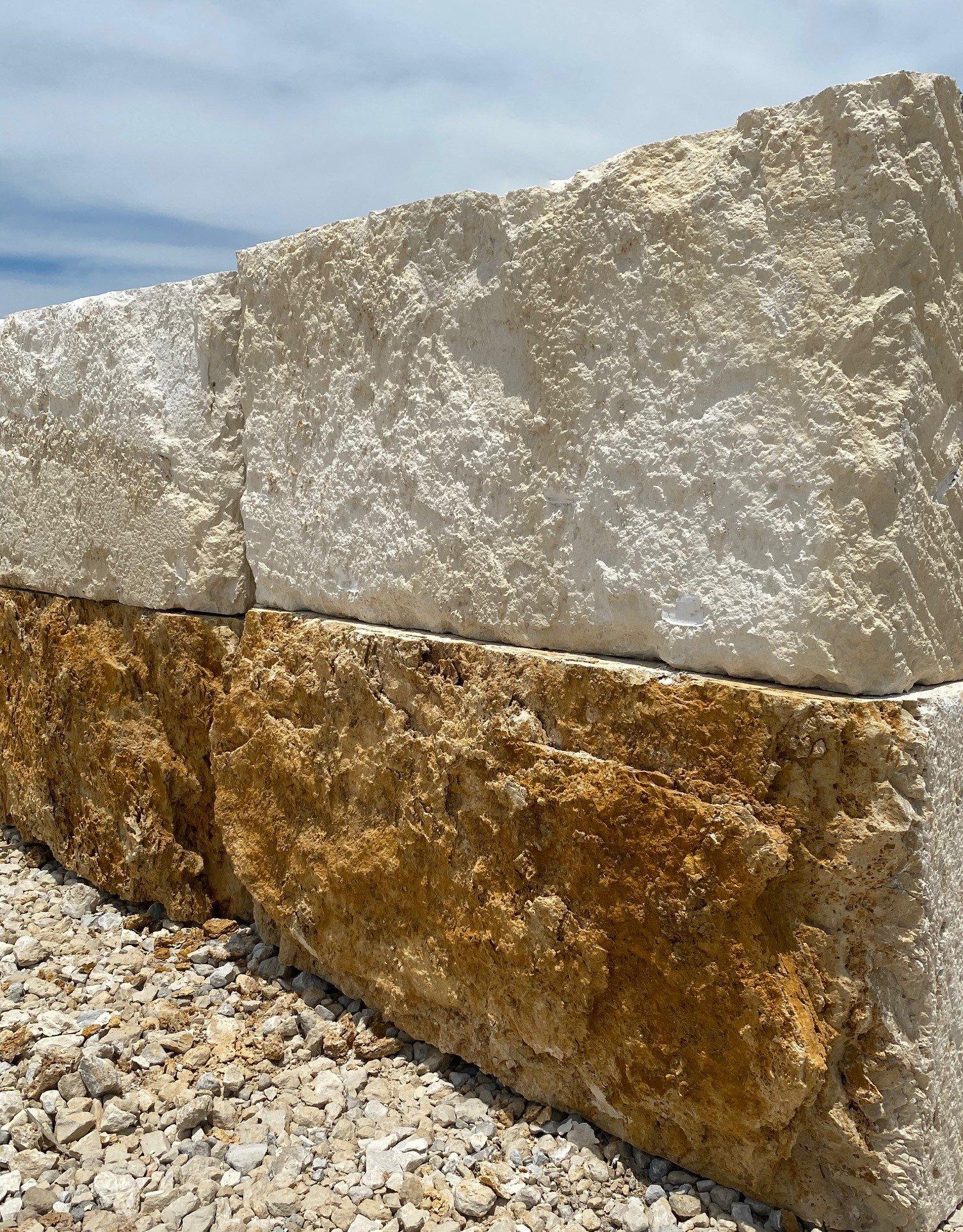 Limestone Quarry Blocks