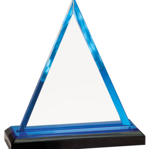 BLUE TRIANGLE IMPRESS ACRYLIC