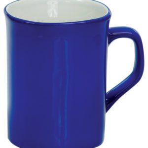 10 OZ BLUE ROUNDED CORNER LAZERMUGS