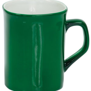 10 OZ GREEN ROUNDED CORNER LAZERMUGS