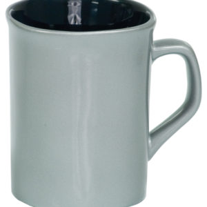 10 OZ SILVER ROUNDED CORNER LAZERMUGS