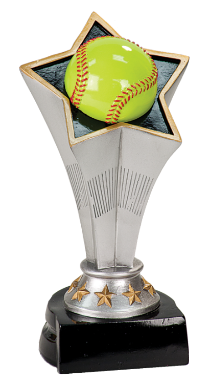 RISING STAR SOFTBALL RESIN