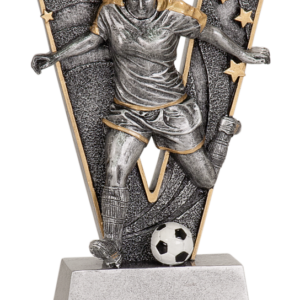 V FEMALE SOCCER RESIN