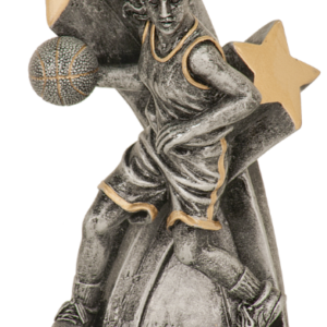 SUPER STAR FEMALE BASKETBALL RESIN