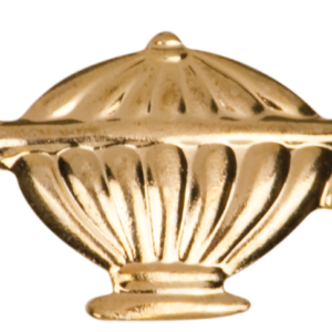 LAMP OF KNOWLEDGE CHENILLE PIN