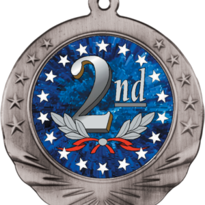 2ND PLACE MOTION MEDAL
