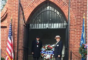 2017 Veterans Day Commemoration & Wreath Laying at Gen. George Washington's Tomb