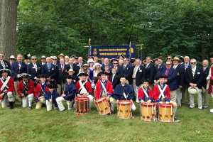 4th of July Ceremony and Wreath laying at General Washington's Tomb