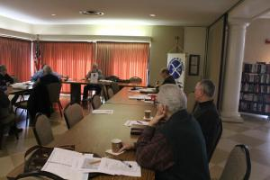 Chapter Working Meeting - 26 January 2019